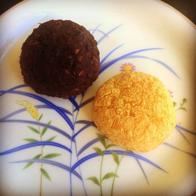 "A cooking session for a German friend. Since she wants to cook ""Ohagi"" for her…"
