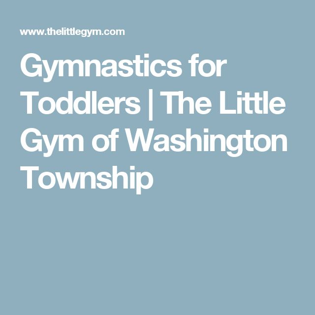 Gymnastics for Toddlers | The Little Gym of Washington Township