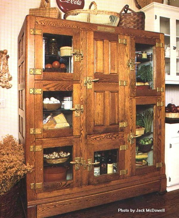 Restored antique icebox. What a beautiful piece! Would love to have ...