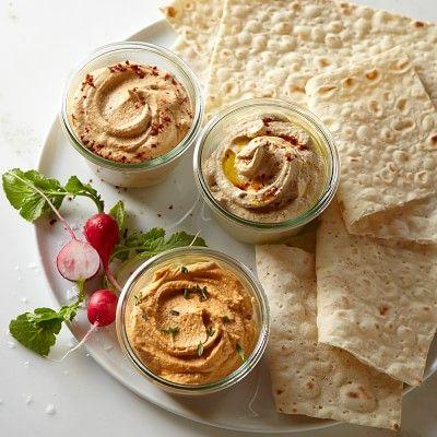 Hummus Sampler #williamssonoma