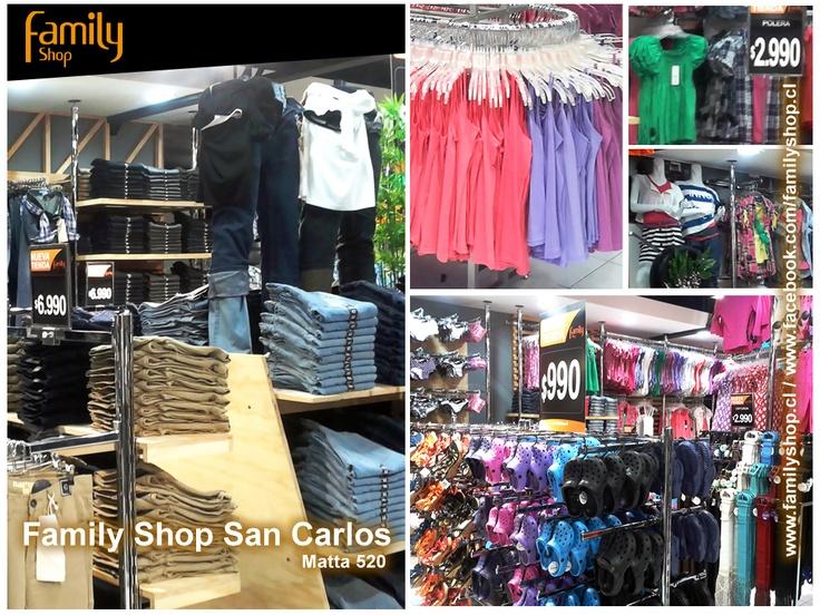 Nuestra nueva tienda en san Carlos Matta 520, 8va región, Chile.