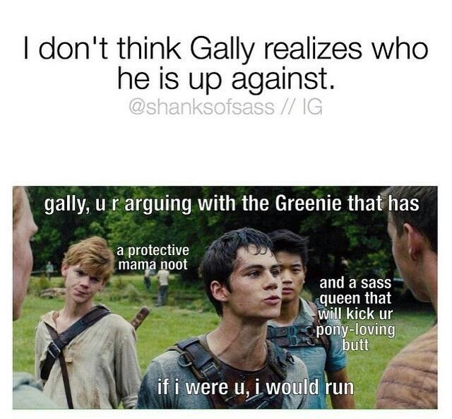 Mama noot scary newt isnt but mama nooy is<<< not everyone can win at grammar