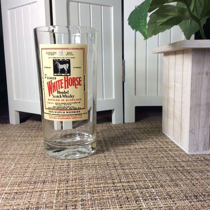 White Horse Blended Scotch Whisky Barware Drinking Glass