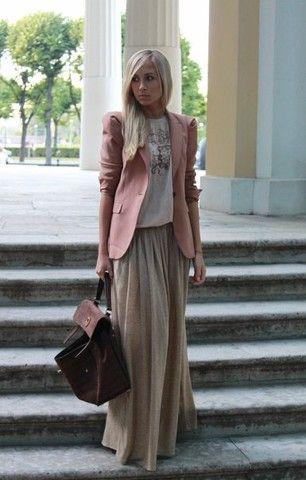 Zara Jacket, Balenciaga T Shirt, Zara Skirt, Yves Saint Laurent Bag