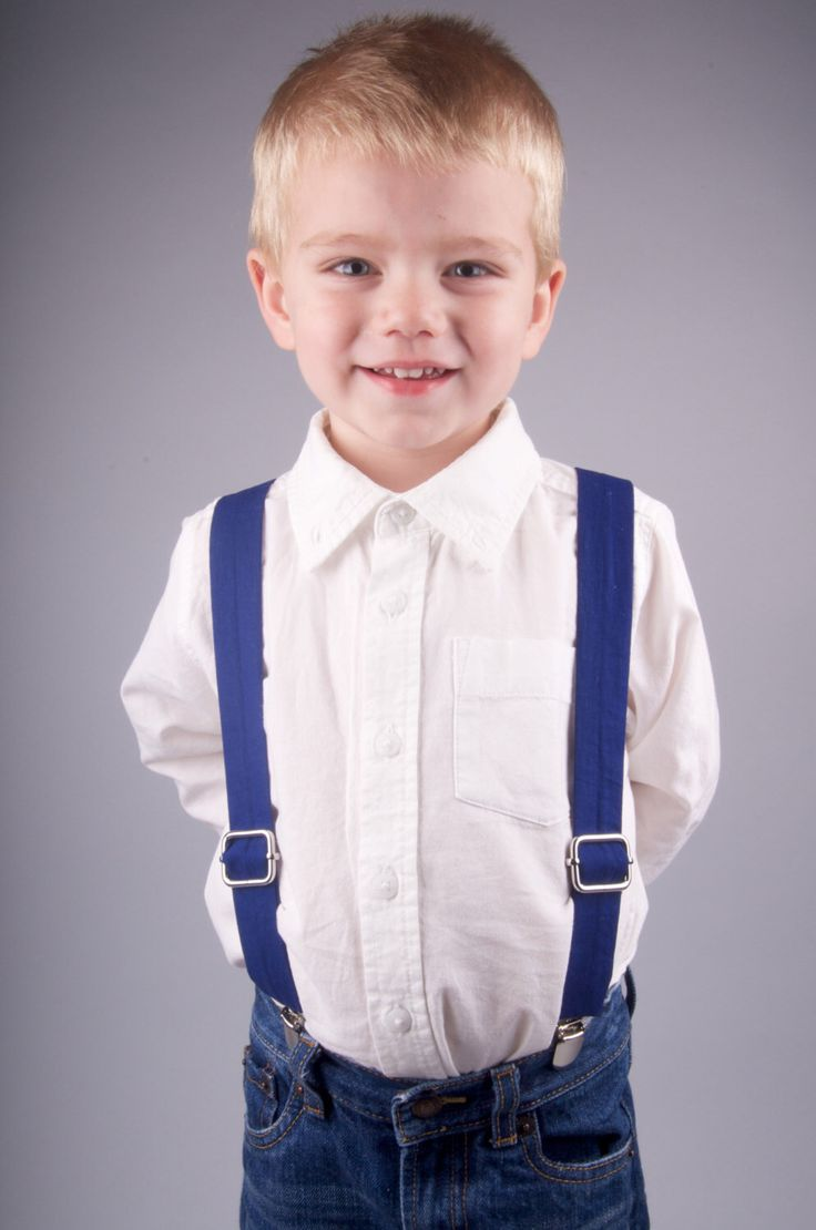 Solid Navy Blue Suspenders  - Baby Toddler Child Boys - Wedding by DapperGent on Etsy https://www.etsy.com/listing/174689140/solid-navy-blue-suspenders-baby-toddler
