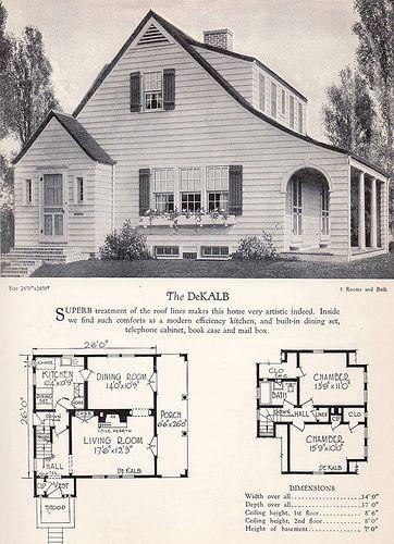 1928 Home Builders Catalog - The Dekalb | Flickr - Photo Sharing!