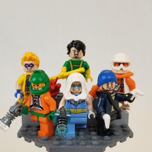 MIRROR MASTER Custom Printed on LEGO Minifigure DC Villain