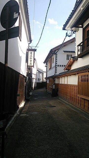 The Lane of Kurashiki Bikan Chiku.