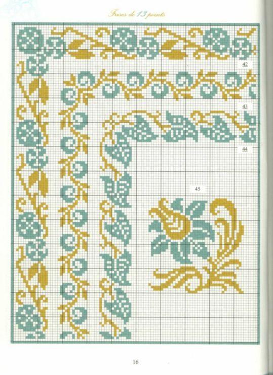 Gallery.ru / Фото #13 - Bordures et Frises Fleuries - Mongia