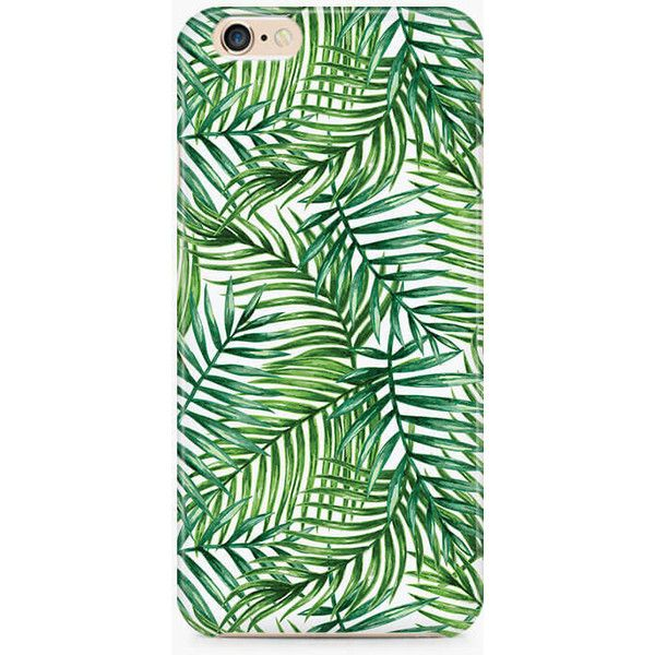 Summer Palm Tree iPhone 6S Case, Tropical iPhone SE Case, Floral... ($8.95) ❤ liked on Polyvore featuring accessories, tech accessories, floral iphone case, apple iphone cases, iphone cover case, slim iphone case and iphone cases