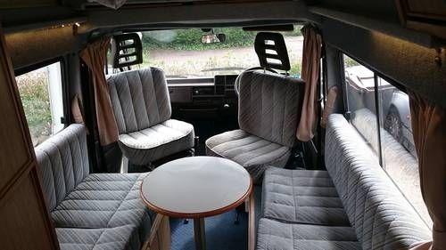 Talbot express autosleeper interior
