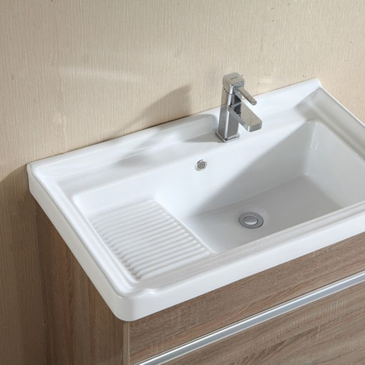 laundry sink with washboard - Google Search