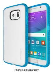 Incipio - Octane Case for Samsung Galaxy S 6 Cell Phones - Frost/Neon Blue . For more info visit www.above-beyond.co.za