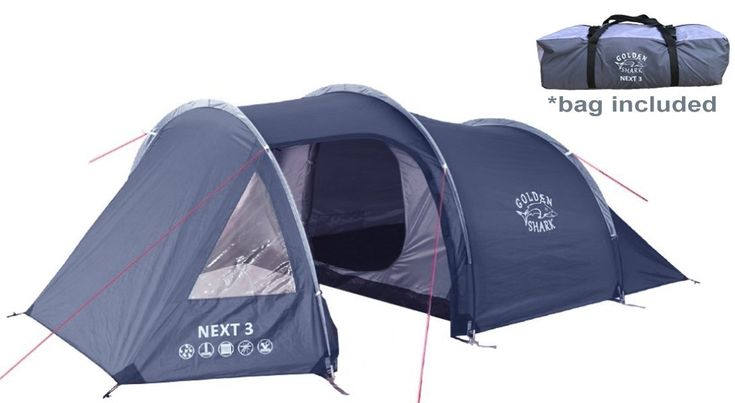 Check out the [GoldenShark NEXT 3 - Portable 3 Person Outdoor Tent with Large Vestibule, 2 Doors Dual Layer Lightweight Waterproof Backpacking Tent] reviewed on DigiMancave! The GoldenShark NEXT 3 – Portable 3 Person Outdoor Tent can become your home away