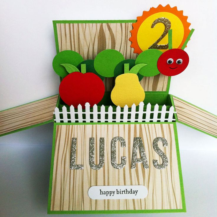 136 best Hungry Caterpillar Birthday Party images – Hungry Caterpillar Birthday Card