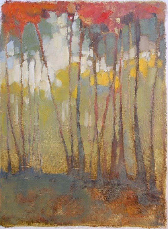 Olivia Pendergast    Beautifully rendered trees in a landscape.