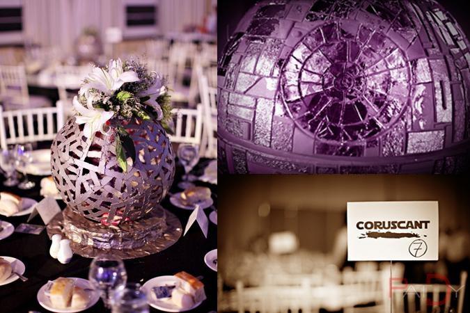Wedding centerpieces wedding ideas weddings stars star wars