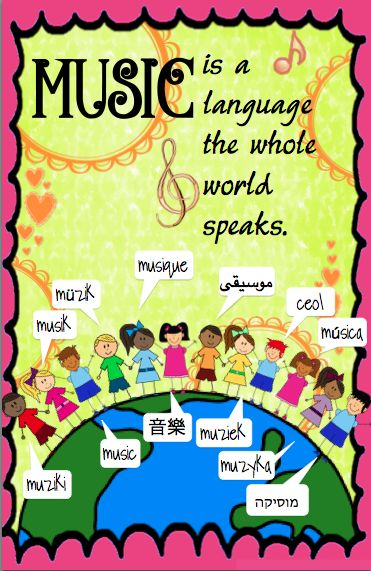 Modern Languages Classroom Posters ~ Best music bulletin boards ideas on pinterest