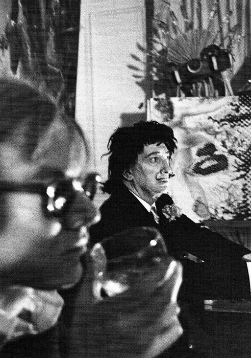 Andy Warhol & Salvador Dali.
