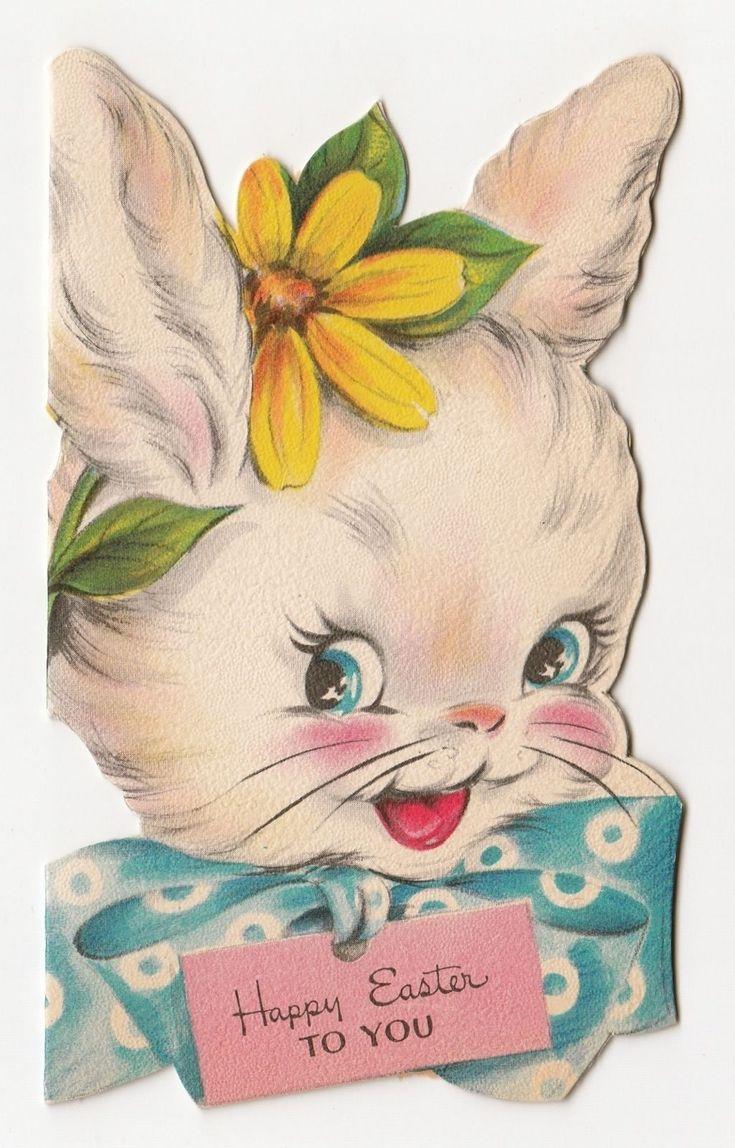 733 best images about Vintage Easter – Hallmark Easter Cards