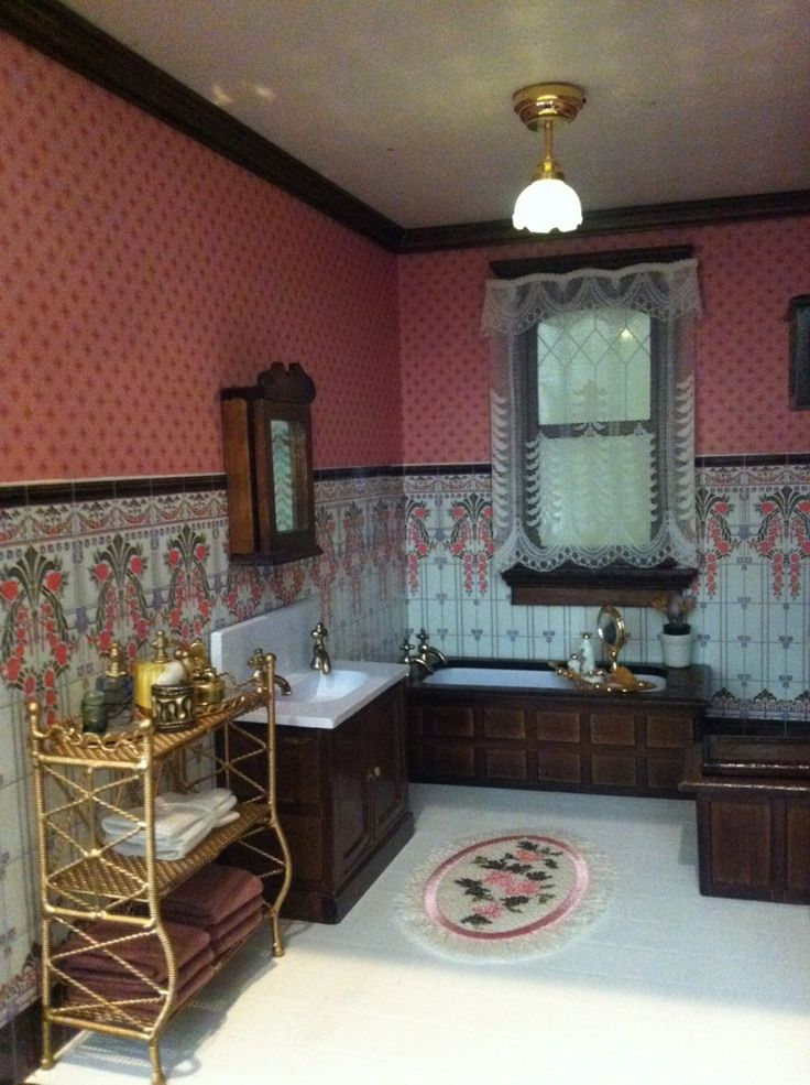 163 Best Dollhouse Bath Amp Laundry Room Ideas Images On