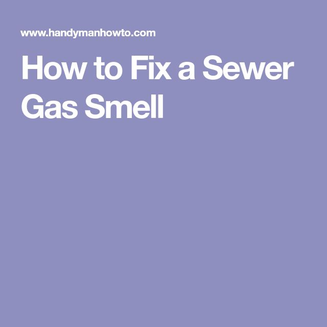 sewage smell in bathroom. This project explains how to fix a sewer gas smell coming from under the  bathroom sink by replacing Studor Mini Vent air admittance plumbing valve Best 25 Sewer ideas on Pinterest Drain repair