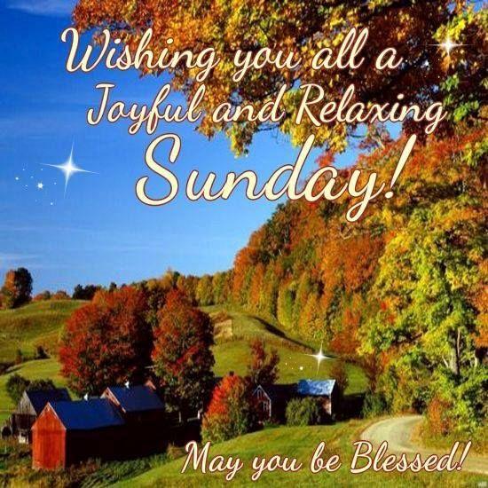 Wishing You All A Joyful And Relaxing Sunday! good morning sunday sunday quotes happy sunday blessed sunday sunday blessings happy sunday quotes good morning sunday sunday pictures