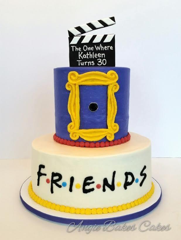 Pin by Alexandra Jaramillo on cake art | Friends cake ...