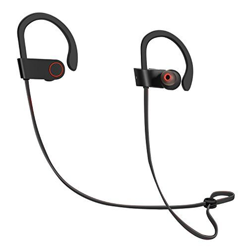 Special Offers - ICONNTECHS IT Wireless Headphones Bluetooth Earbuds Sweatproof In Ear Secure Fit Earphones Loud Bass Noise Reduction with Mic for iPhone Android for Sports Running Jogging Boxing Gym Training (Black) For Sale - In stock & Free Shipping. You can save more money! Check It (November 30 2016 at 08:57PM) >> http://ift.tt/2fQCTHb