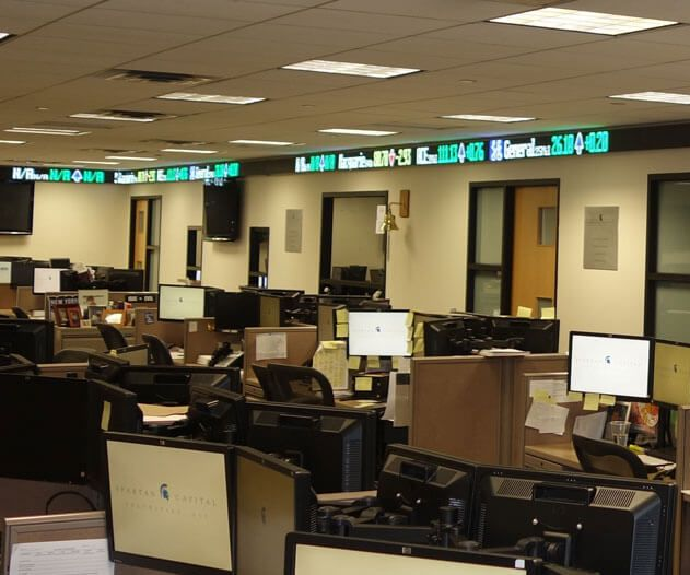 Led Ticker Tapes a New Medium of Information in Stock Display
