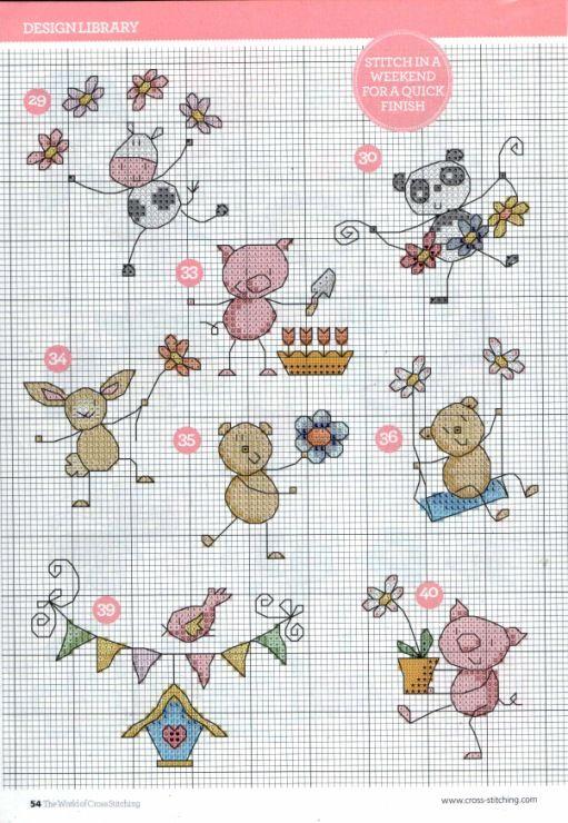 (4) Gallery.ru / Photo # 29 - The world of cross stitching 215 - WhiteAngel