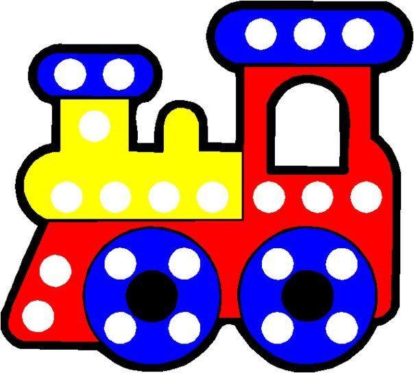 Дети Дома detidoma.net: Карточки для игр с пуговицами.