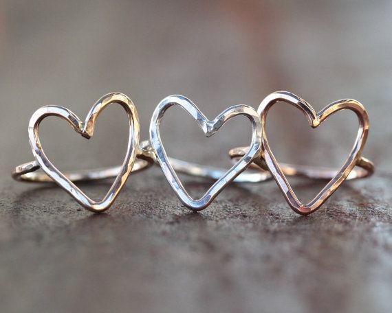 Hey, I found this really awesome Etsy listing at https://www.etsy.com/listing/221788888/heart-ring-simple-ring-simple-jewelry