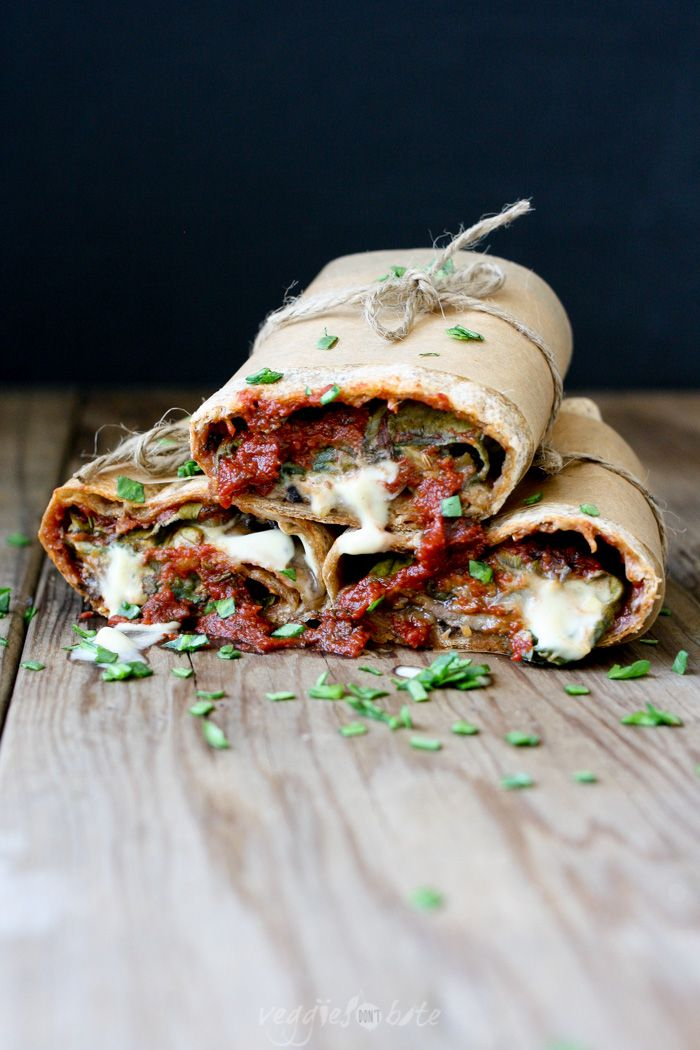 Vegan Pizza Burrito and Easy Pizza Sauce- Veggies Don't Bite