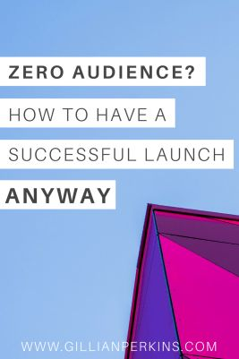 How to have a successful launch with a small audience // You can't have a successful launch unless you have people to sell your offer to, so what are you supposed to do if you don't have a giant email list or social media following? In this article, I'm sharing the strategy that I use to create profitable launches for my marketing clients who are starting from scratch. And, incidentally, these strategies really help to GROW a bigger following along the way, making future launches even…