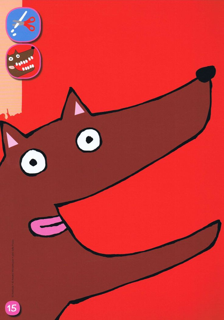 Plasticine: tanden voor de wolf. Klei je mee? http://www.averbode.be/fr/zorgaanbod_vl/zorgaanbod_vl-Zorg/Motorische-ontwikkeling/zorgaanbod_vl-Zorg-Bewegingsopvoeding-Klei-je-mee.html