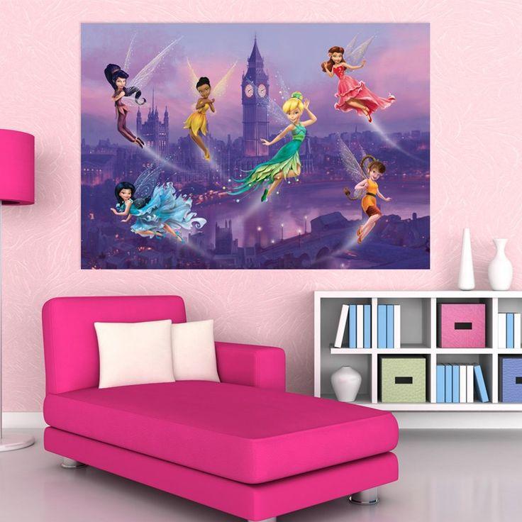 Fototapet Disney 4 pentru camere copii - Fairies