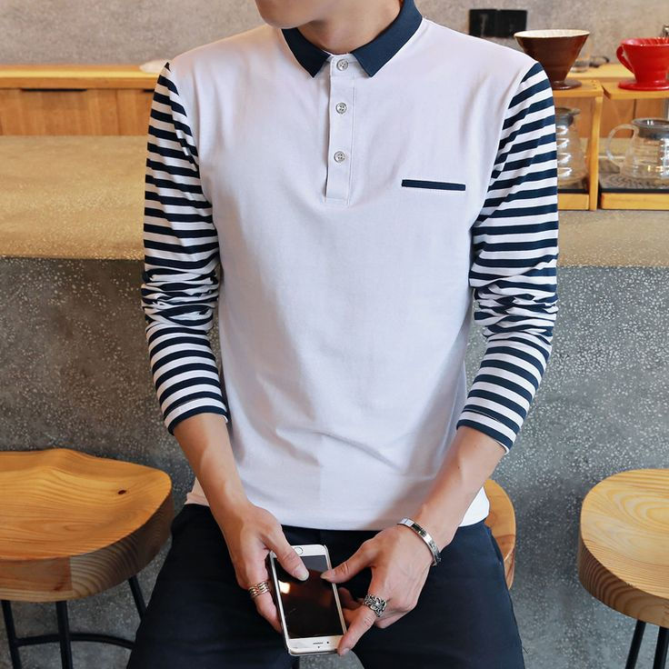 High quality men polo shirt 2016 spring and autumn new brand Long sleeve polo men Business casual men's solid polo shirt