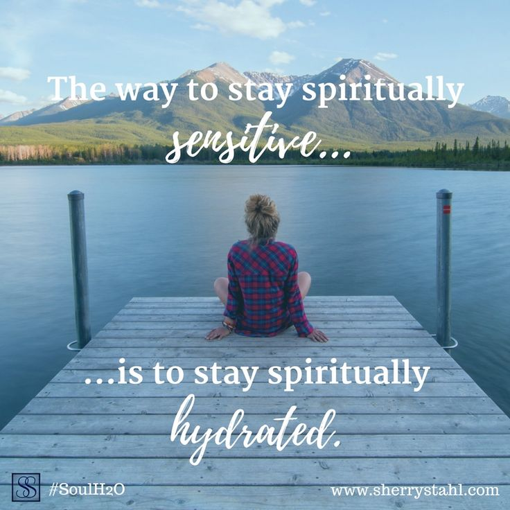 We hear about staying hydrated... it's good for so many different parts of us... but we also need to make spiritual hydration our priority too! Check out #SoulH2O and get the refreshing you need each day!