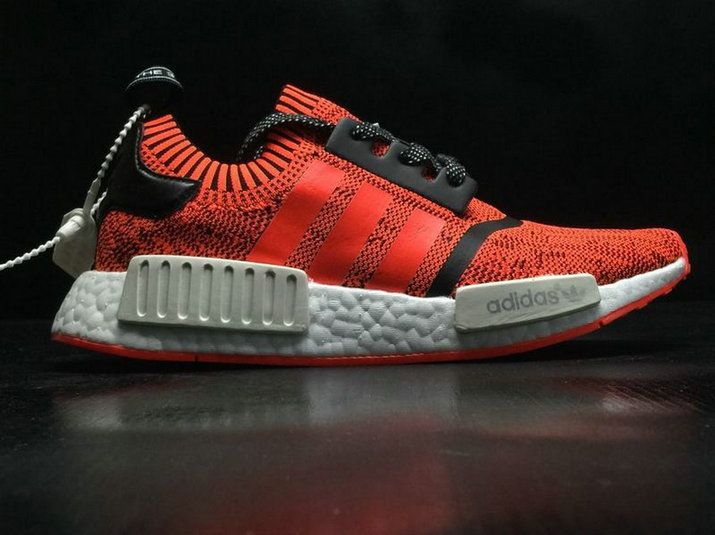 35909f18c757d Adidas NMD R1 Pk Nyc Red Apple By1905 Genuine Shoe