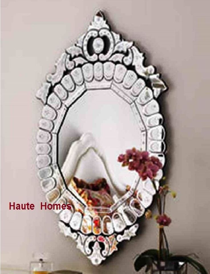 """NEW Stunning LARGE 40"""" VENETIAN ETCH ENGRAVE FRAME Wall Vanity OVAL Mirror"""