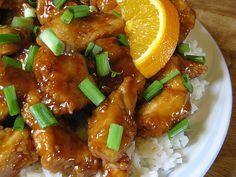Weight Watchers Orange Chicken...6 points for 1 cup orange chicken & 1/2 cup rice