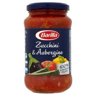 Barilla cukkini & padlizsán, zöldséges paradicsomszósz 400 g - Tesco Bevásárlás