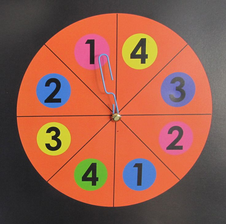 Twister Game Spinner Template Download