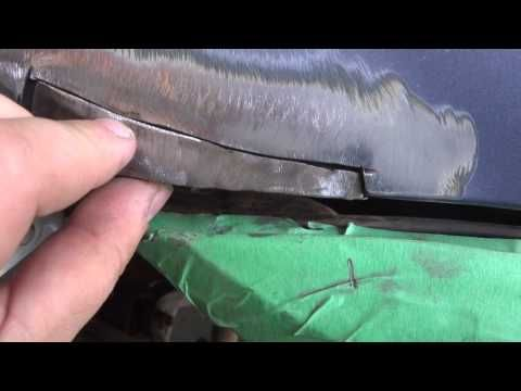 How to Repair Rust and Weld Body Panels - YouTube