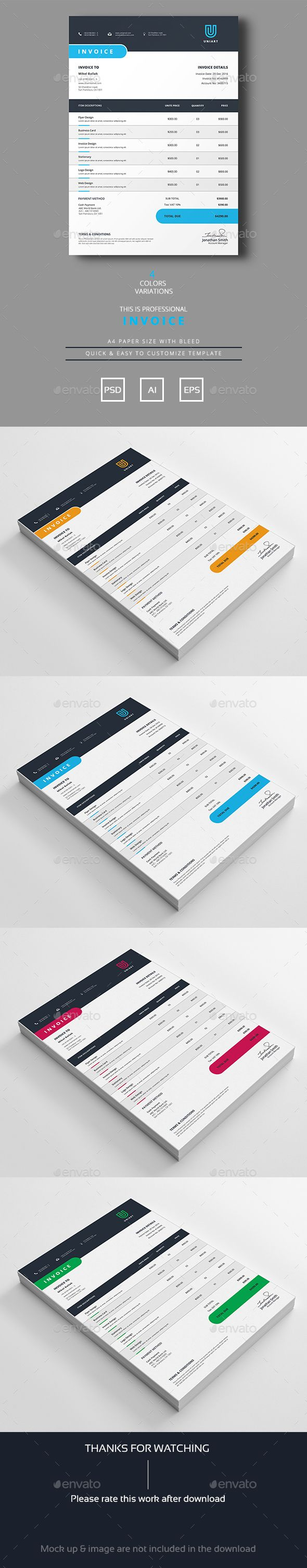 Scan Invoices Into Quickbooks Excel  Best Stationary Images On Pinterest  Invoice Template Invoice  Customizable Invoice Software Excel with Invoice Php Script Word Invoice Translate Invoice Pdf