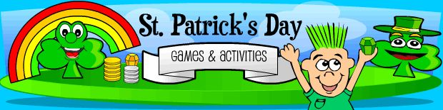 Seasonal, and all-year-round puzzles/games/brain breaks. This link to St. Pat's Day activities.