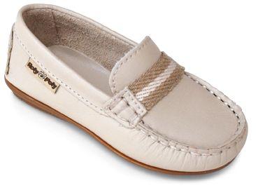 Zapatos beige marineros para bebé 7UWm5Qnjj