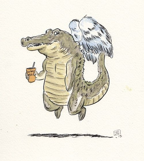 Give an alligator its wings✌️  #grav3yardgirl