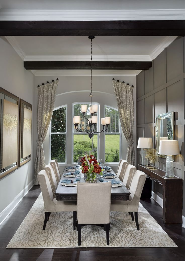David Weekely Homes' La Rocque Model, Dining Room in The Island at Twenty Mile